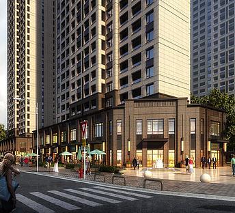 新中式古典商业街