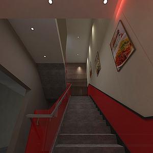 3d楼梯间模型