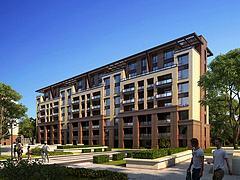 3D模型中式住宅