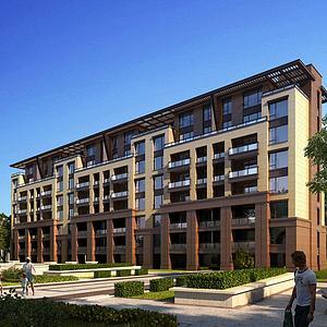 中式住宅3d模型