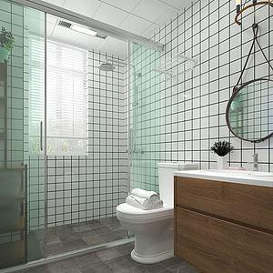 現代衛浴3d模型