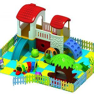 儿童小滑梯3d模型