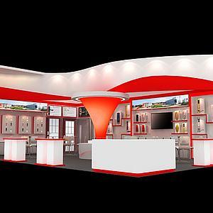 电器展厅展览模型