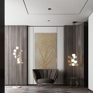 现代门厅3d模型