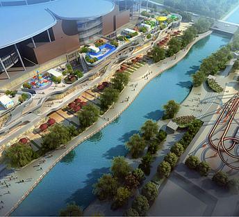 滨水商业景观