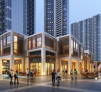 中式现代商业住宅