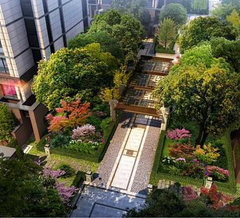 中式住宅小区景观