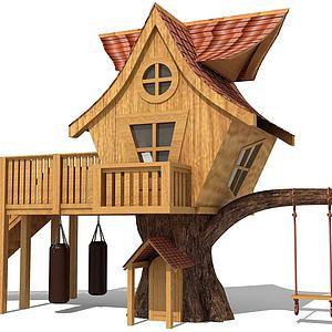小木屋模型3d模型