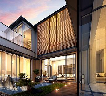 新中式庭院别墅