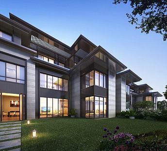 新中式会所别墅