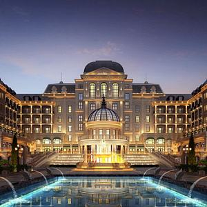法式酒店會所模型3d模型