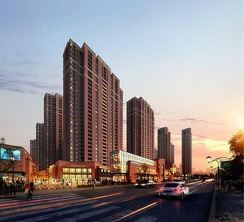 中式住宅商业街