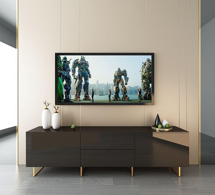现代简约电视柜组合