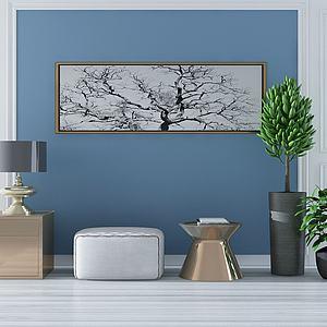 现代沙发?#26102;?#20960;模型3d模型