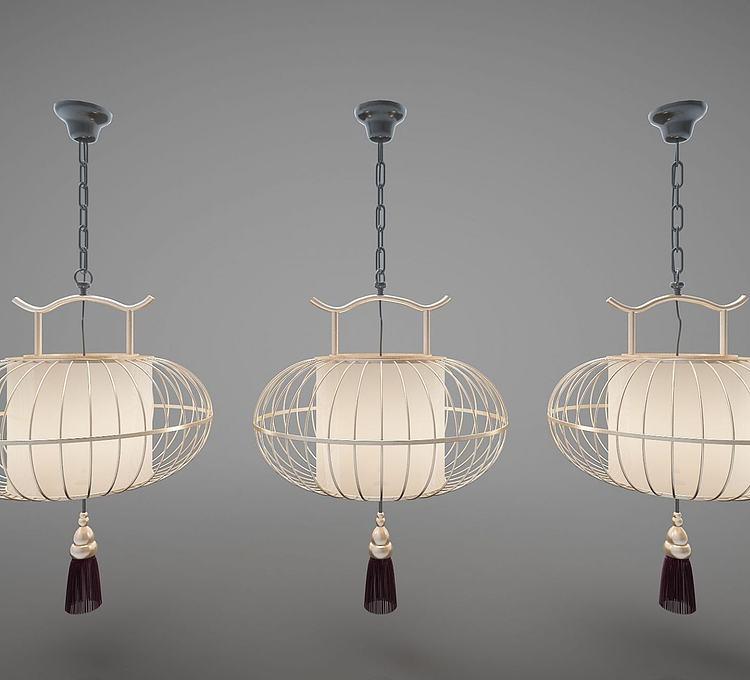 新中式吊灯灯笼灯