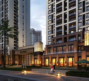 新古典商业街住宅小区