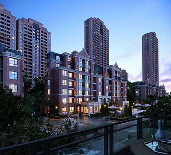 现代新古典住宅小区