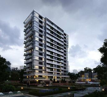 现代商业住宅