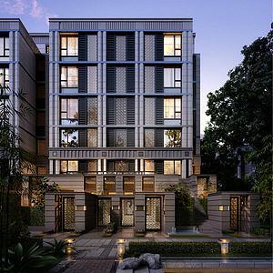 新古典住宅模型3d模型
