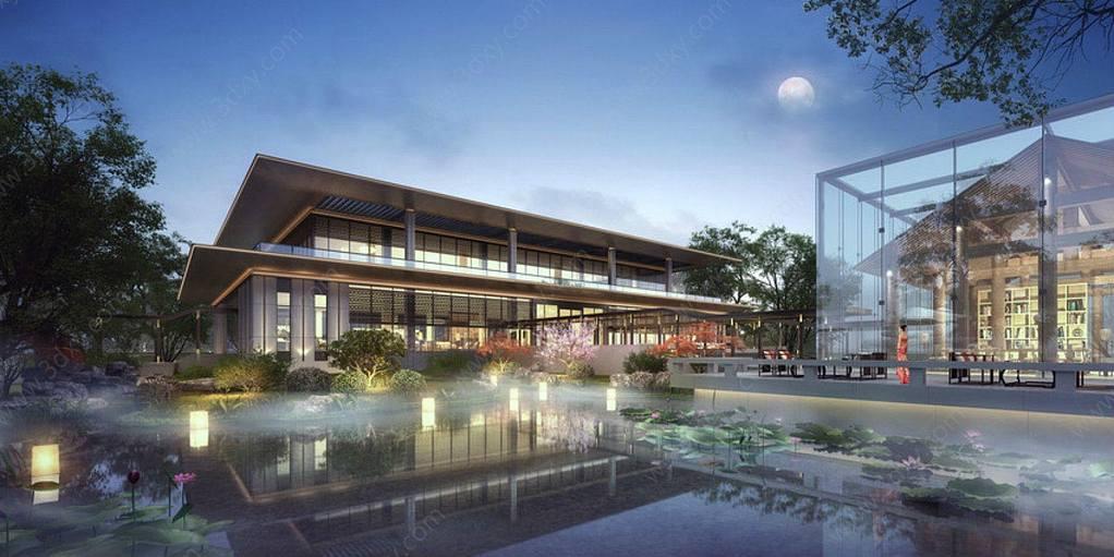 現代游客中心展覽館