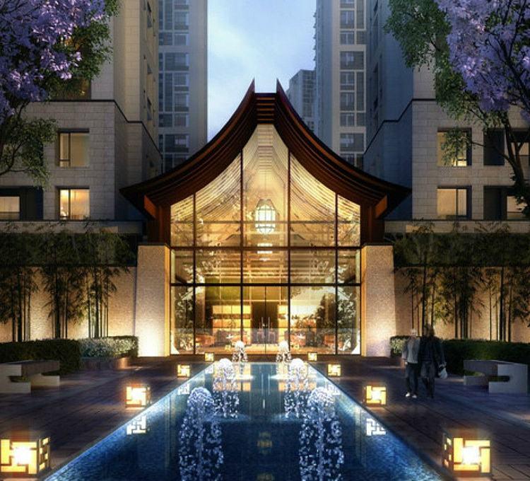 新中式会所酒店