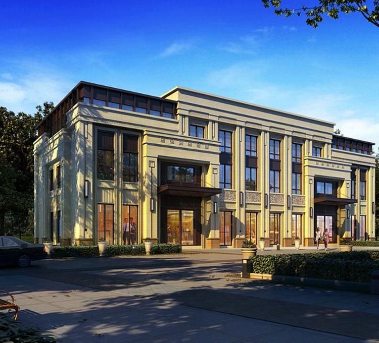 欧式酒店商业楼