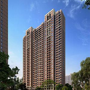 新古典住宅楼模型3d模型