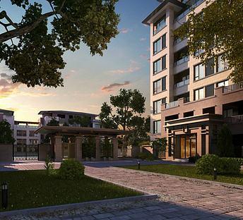 新中式公寓景观