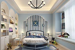现代地中海风格儿童房