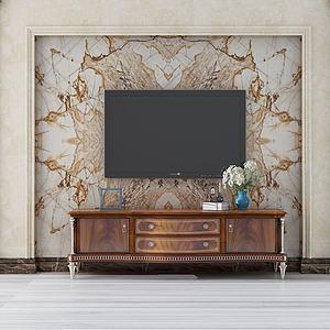 3d電視柜模型