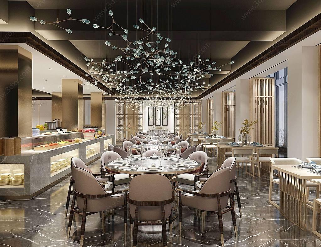 新中式自助餐廳