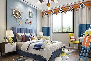 现代地中海风格儿童卧室