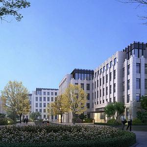 现代办公楼模型3d模型