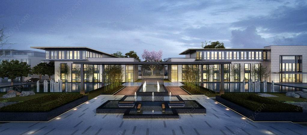 新中式別墅會所
