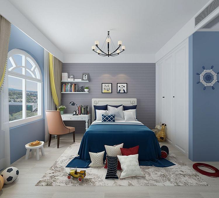 地中海儿童房卧室