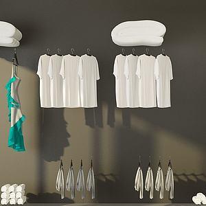 洗浴用品3d模型