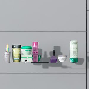 化妝品護膚品3d模型