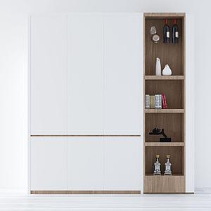 鞋柜模型3d模型
