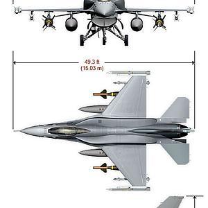 戰斗機模型3d模型