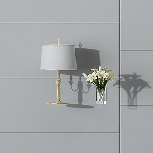 3d臺燈模型