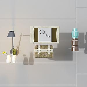 3d飾品組合模型
