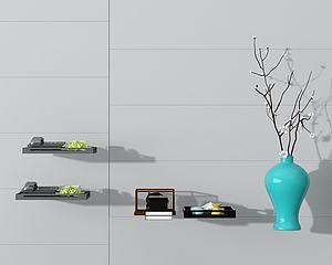 飾品組合模型3d模型