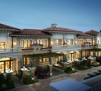 西班牙风格商业酒店