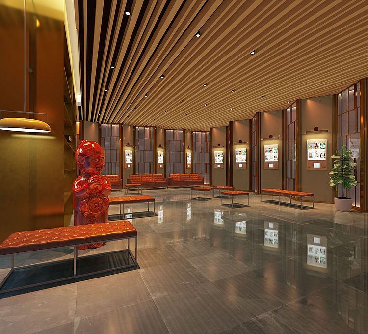 现代风格展厅