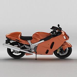 摩托車模型3d模型