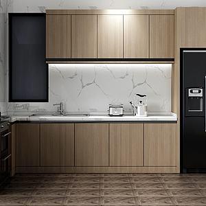 3d厨房模型