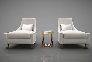 新中式风格沙发模型3d模型