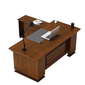 總經理辦公桌3d模型