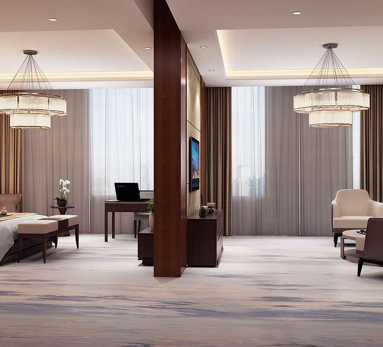 现代酒店套房