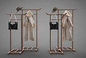 衣架模型3d模型
